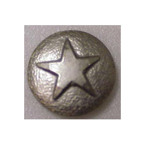 Small Nickel Star Medallion